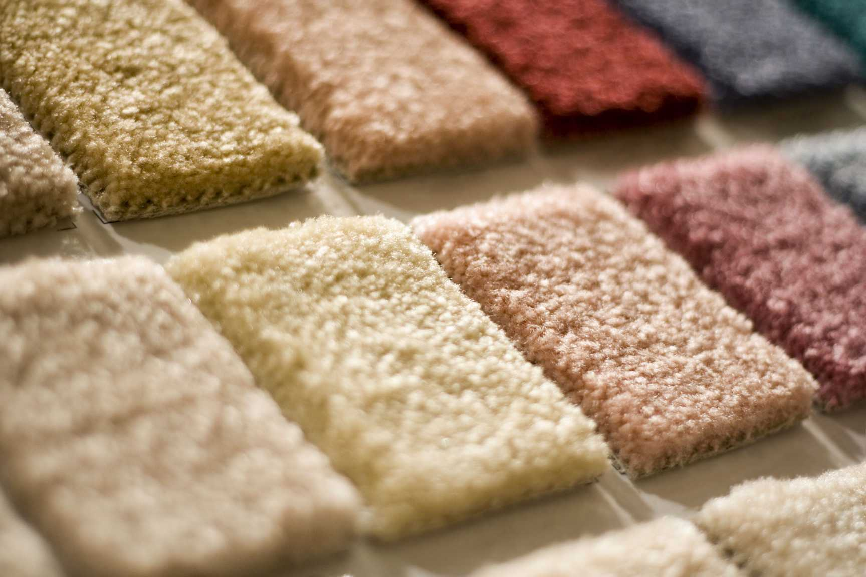 Nylon carpet squares